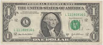 Billete de un dólar estadounidense - Wikipedia, la enciclopedia libre